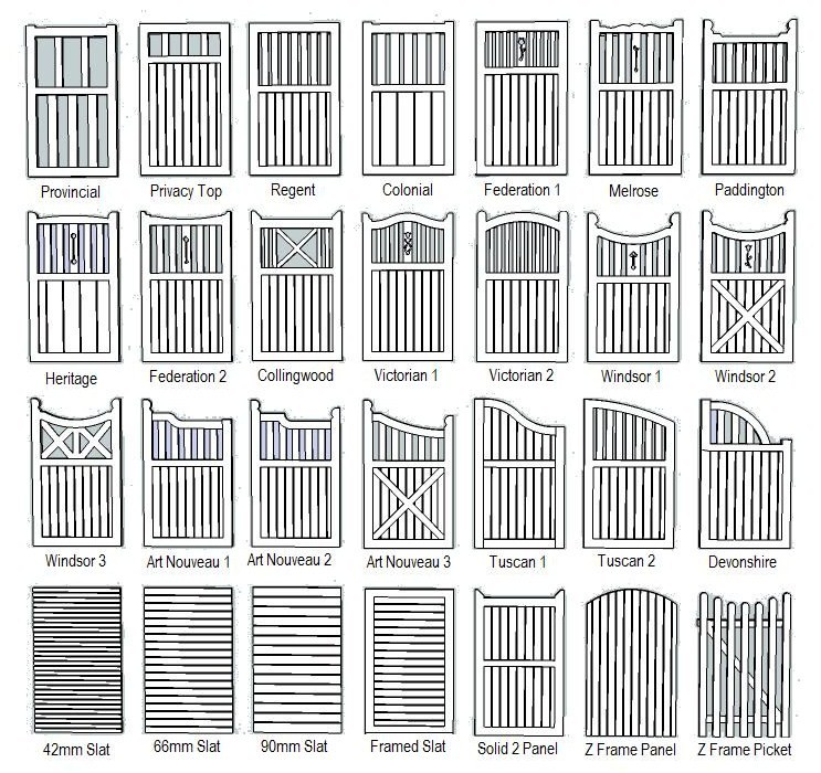Gate Plans Designs Pdf Woodworking