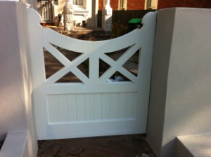 Custom timber gates