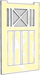 Custom timber gates