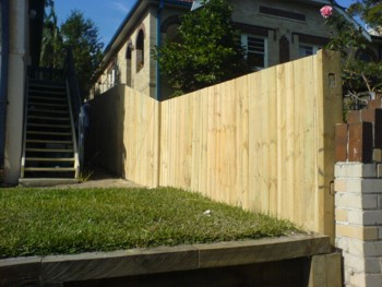 Paling Fence Designs All day fencing gates fence contractors paling fence fencer treated workwithnaturefo