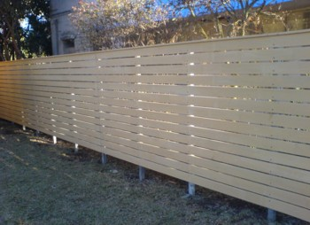 Timber Slat Fencing