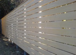 Easy to follow guide to building horizontal slat fencing and screens!