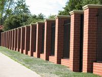 Catchy Collections of Brick Fence Designs Brick Fencing Melbourne