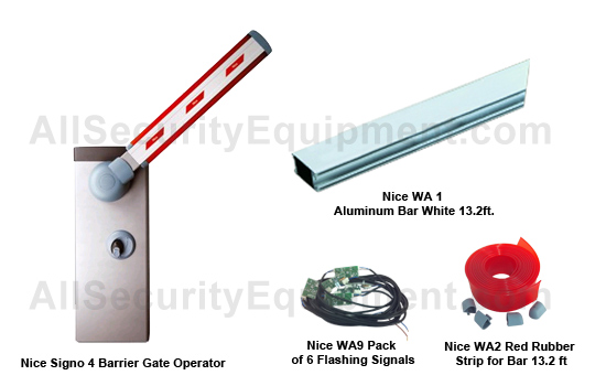 NICE Barrier Series Automatic Gate Opener Kits