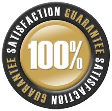 Satisfaction guarantee!