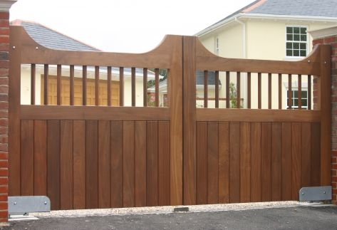 Build your own decorative wooden gates!