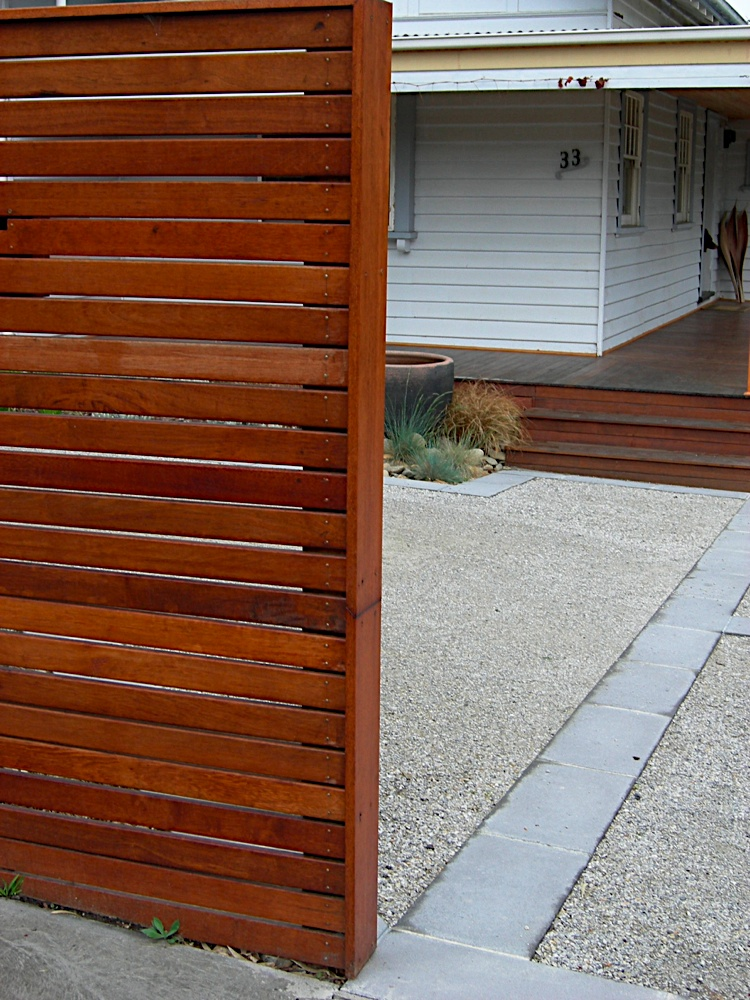 Horizontal Slat Screens Amp Fences All Day Fencing
