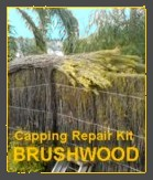 Construction guide for brushwood fencing